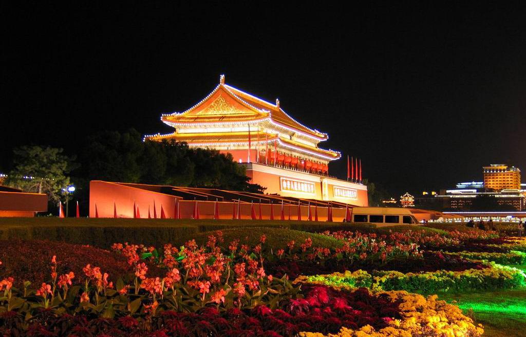 天安门——故宫——圆明园
