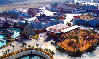 桂林乐满地休闲世界图片